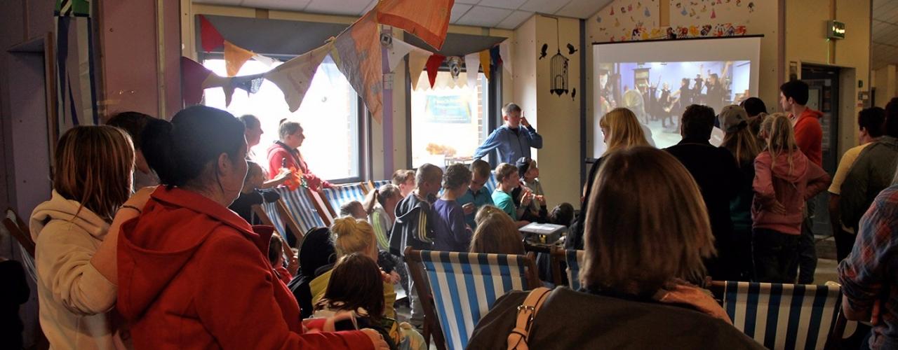 Screening at Warwick on the Beachs